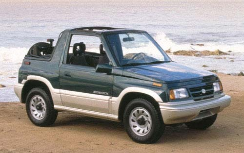Suzuki Sidekick Information And Photos Zombiedrive