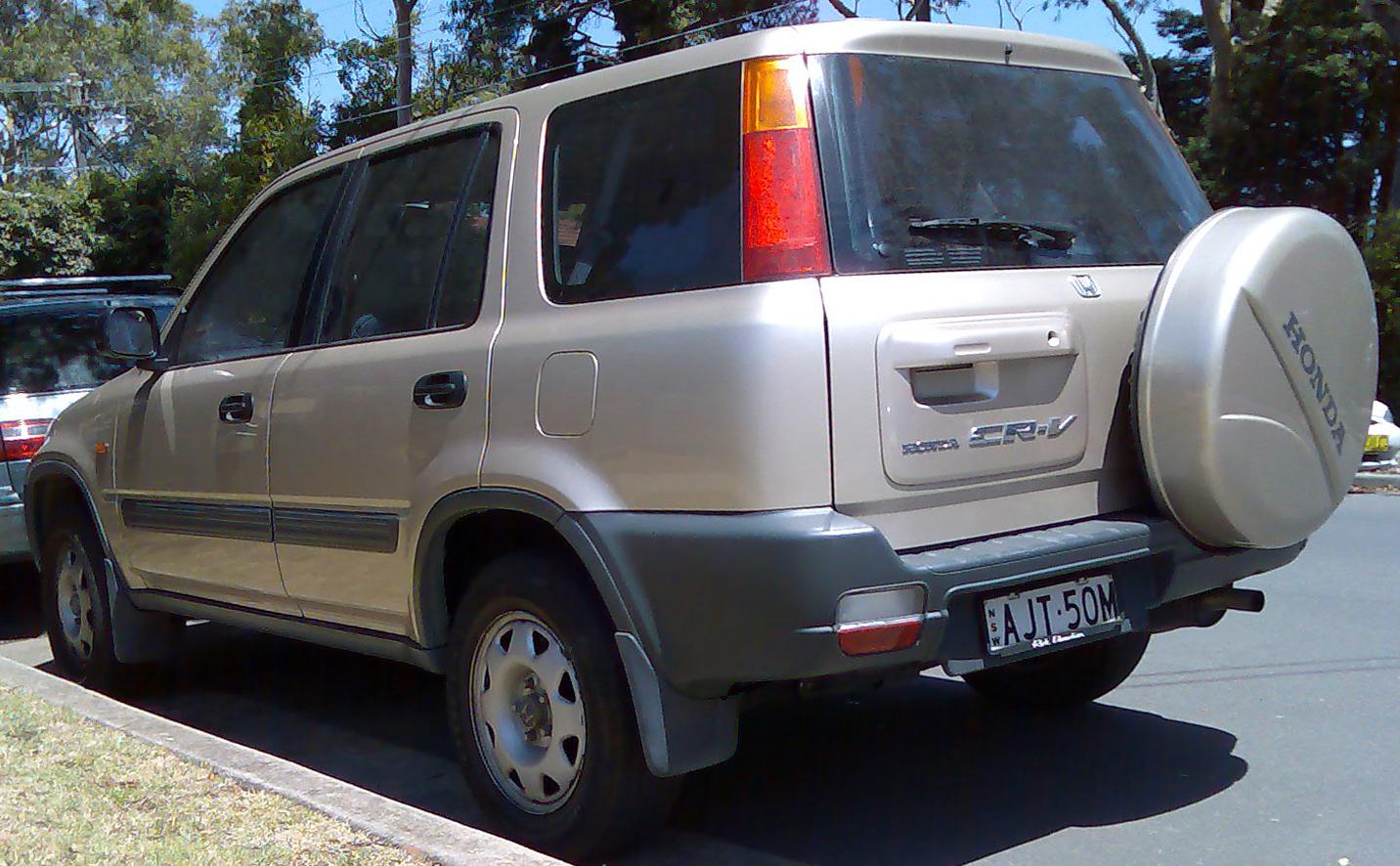 1999 honda cr v   image 3