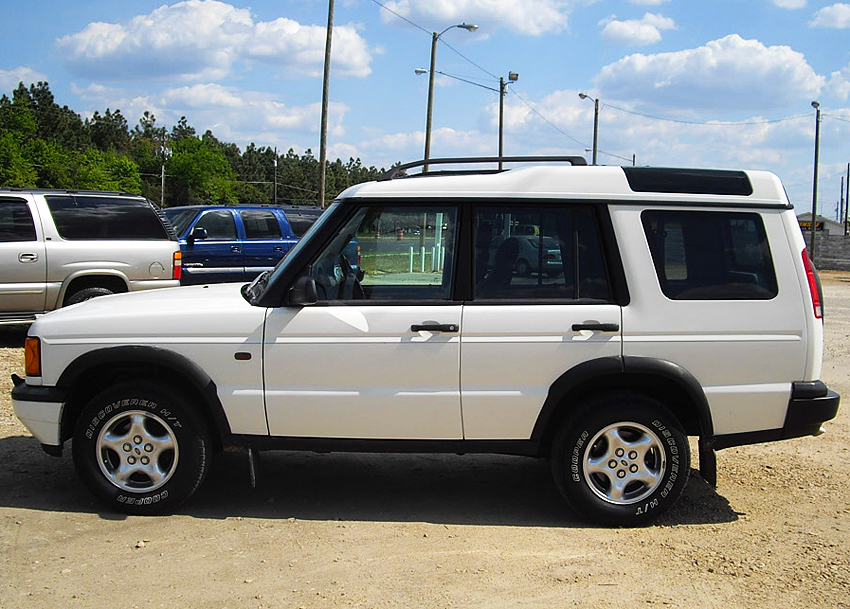 1999 Land Rover Discovery Image 11