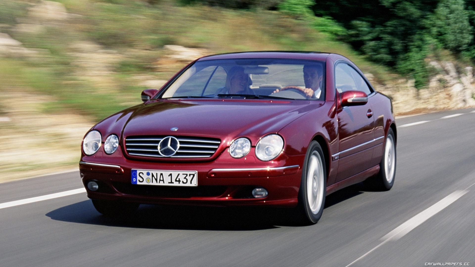 1999 mercedes benz cl class information and photos. Black Bedroom Furniture Sets. Home Design Ideas