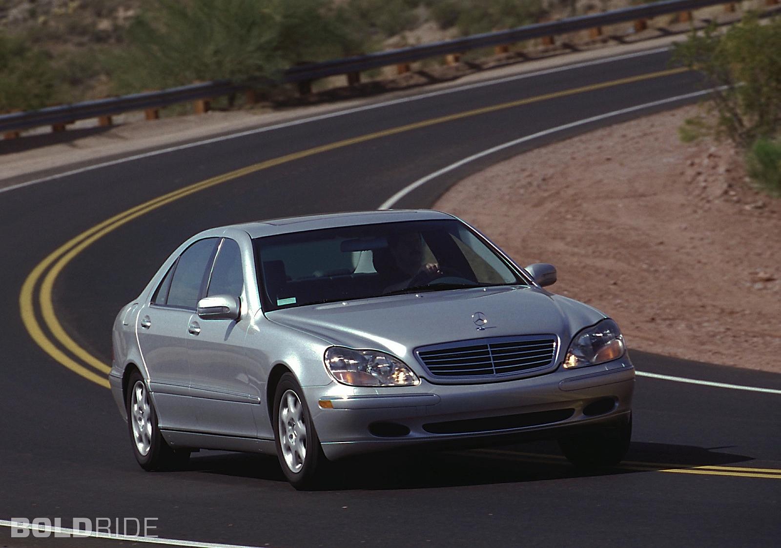 1999 Mercedes Benz S Class Information And Photos