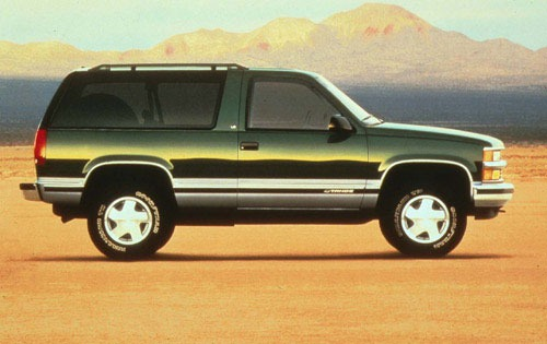 1999 Chevrolet Tahoe 4 Dr exterior #10