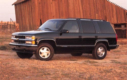 1999 Chevrolet Tahoe 4 Dr exterior #5