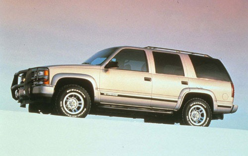 1999 Chevrolet Tahoe 4 Dr exterior #9