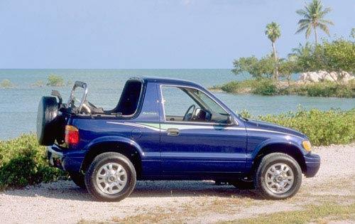 2002 Kia Sportage 16 4wd 4dr Exterior