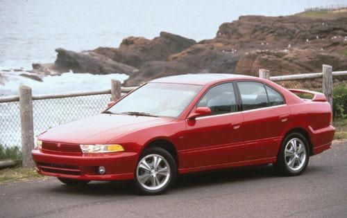 2000 Mitsubishi Galant Image 2