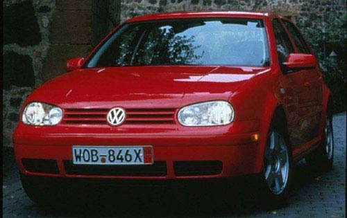 2000 Volkswagen Golf Rear exterior #1