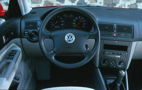 2000 Volkswagen Golf Rear exterior #3