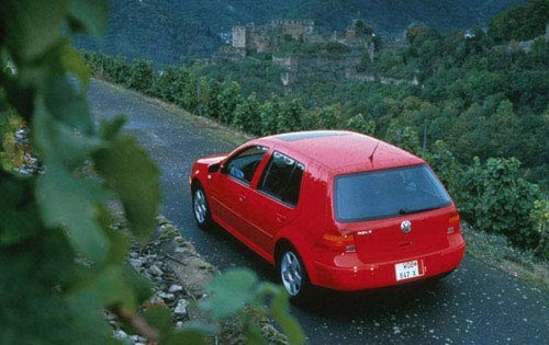 2000 Volkswagen Golf Rear exterior #2