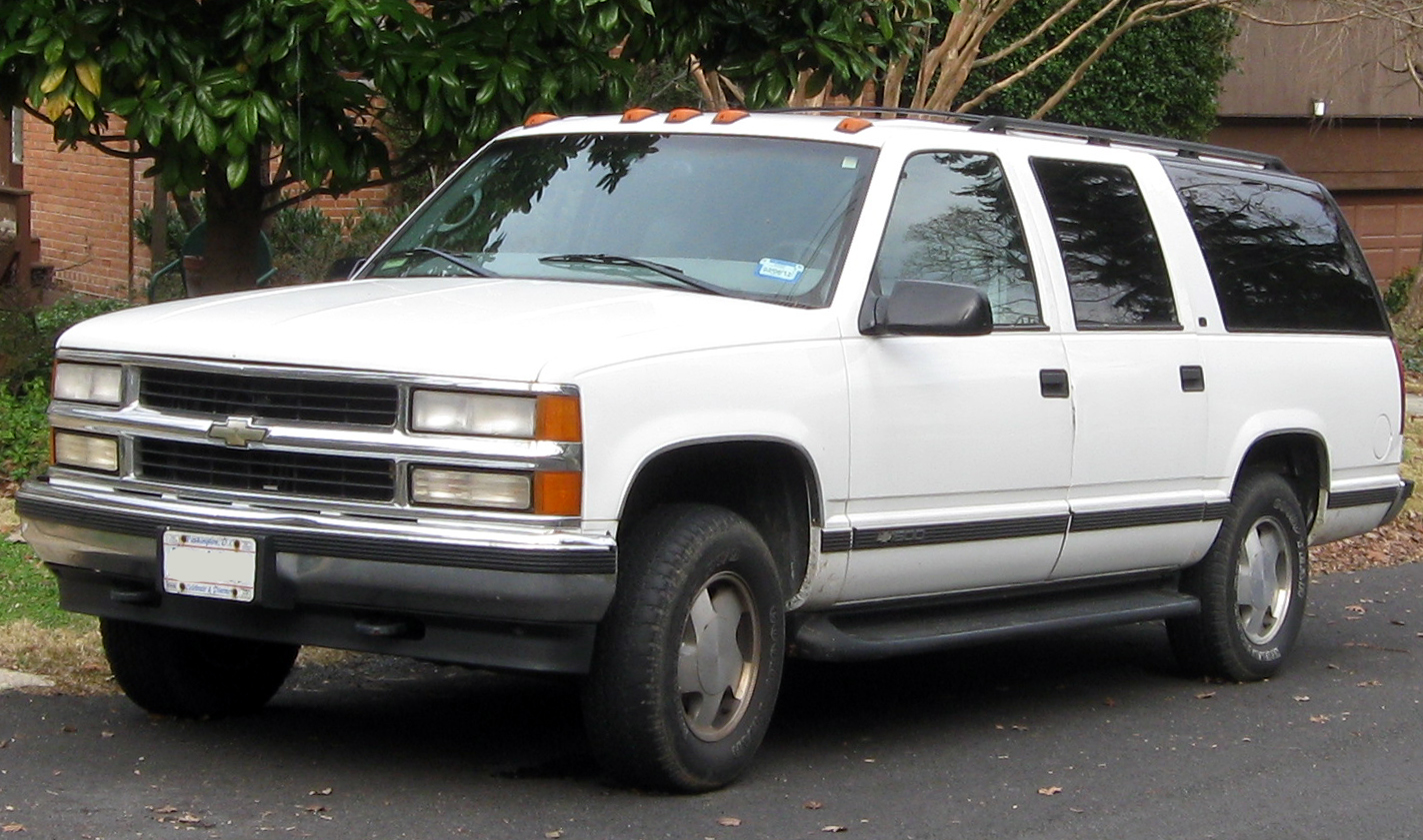 2000 Chevrolet Suburban Information And Photos Zombiedrive 2004 Chevy 2500hd 6 1 Engine Aveo Diagram 8