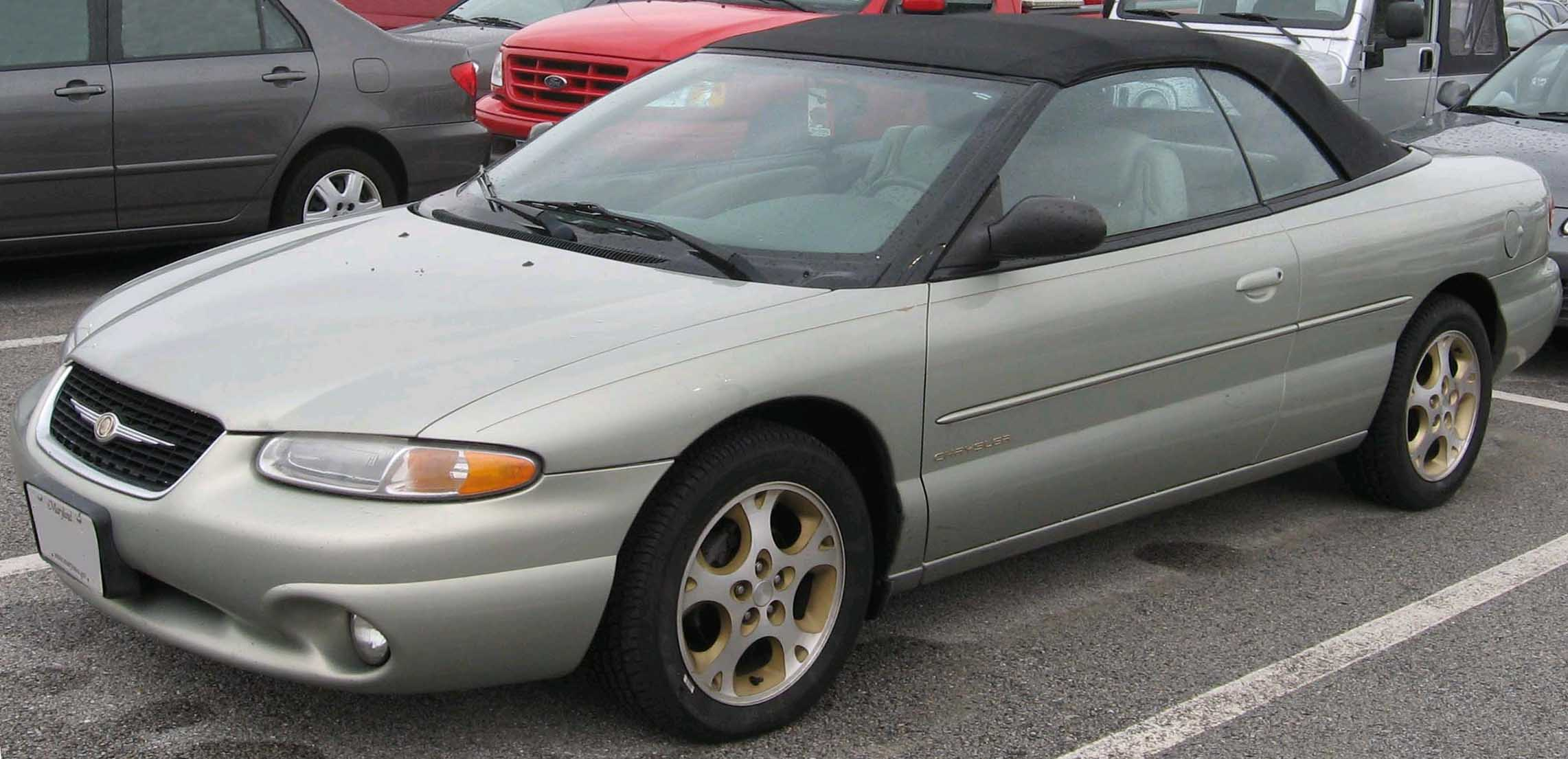 Chrysler >> 2000 CHRYSLER SEBRING - Image #8