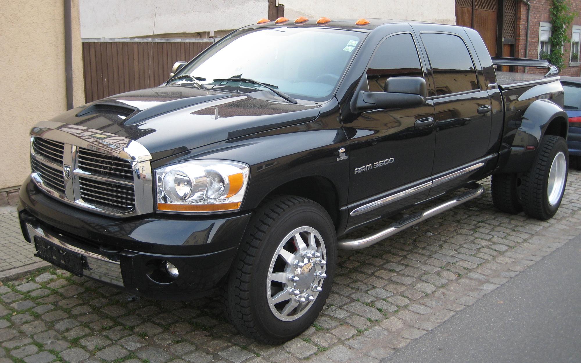 dodge ram pickup 3500 12