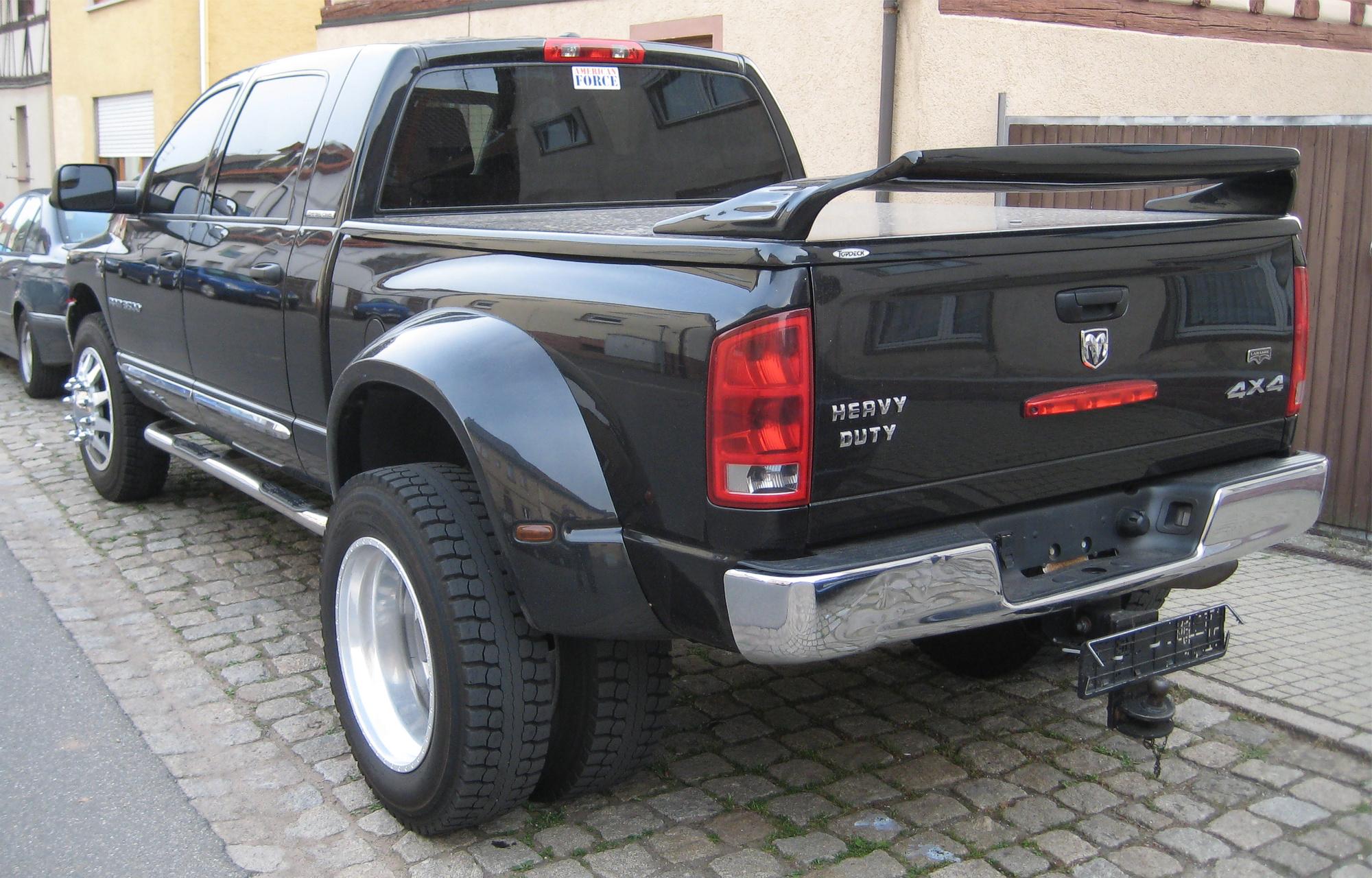dodge ram pickup 3500 8