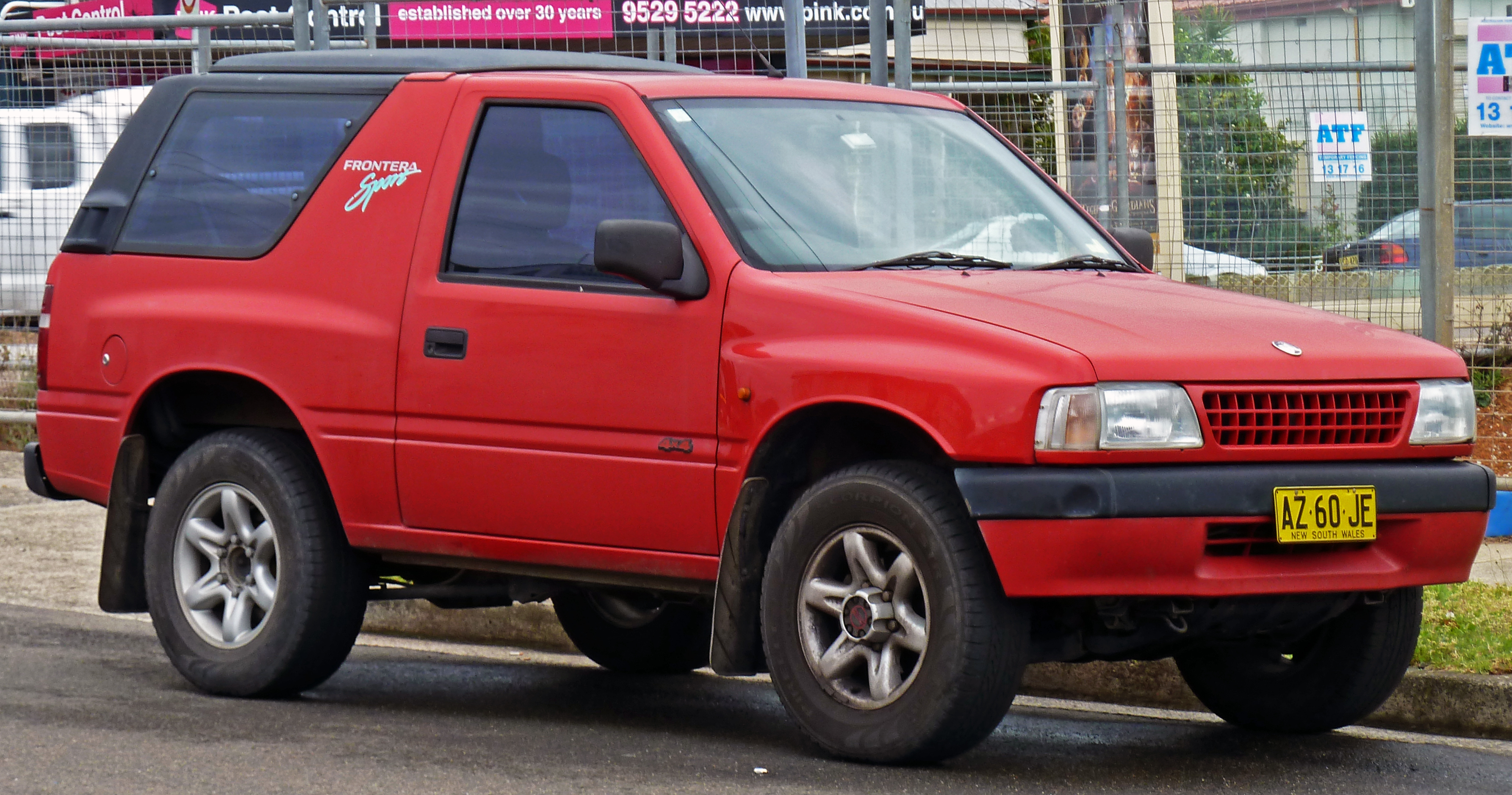 2000 isuzu amigo information and photos zombiedrive