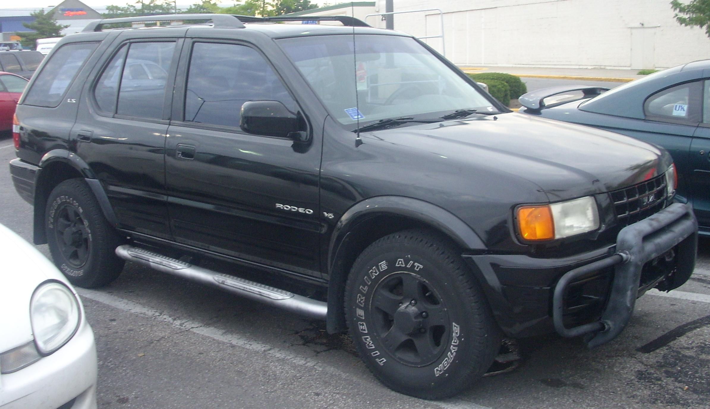 2000 isuzu rodeo information and photos zombiedrive