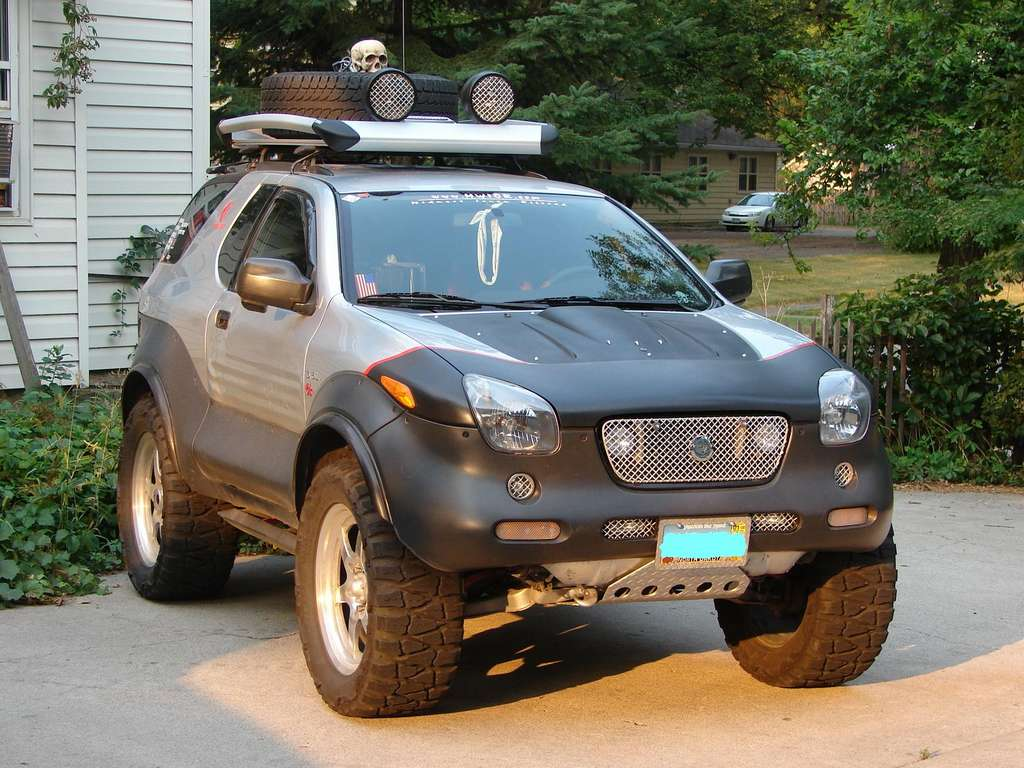 2000 Isuzu VehiCROSS  Information and photos  ZombieDrive
