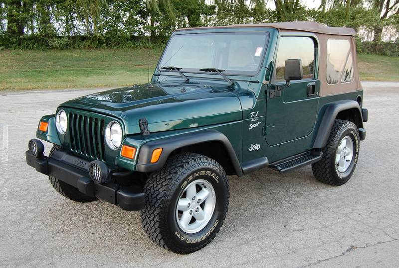 2000 Jeep Wrangler - Information and photos - ZombieDrive