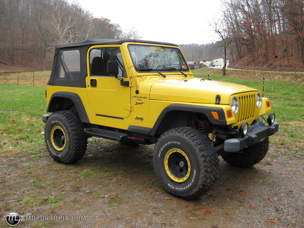 2000 jeep wrangler - image #1