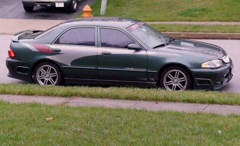 2000 Mazda 626 - Information and photos - ZombieDrive