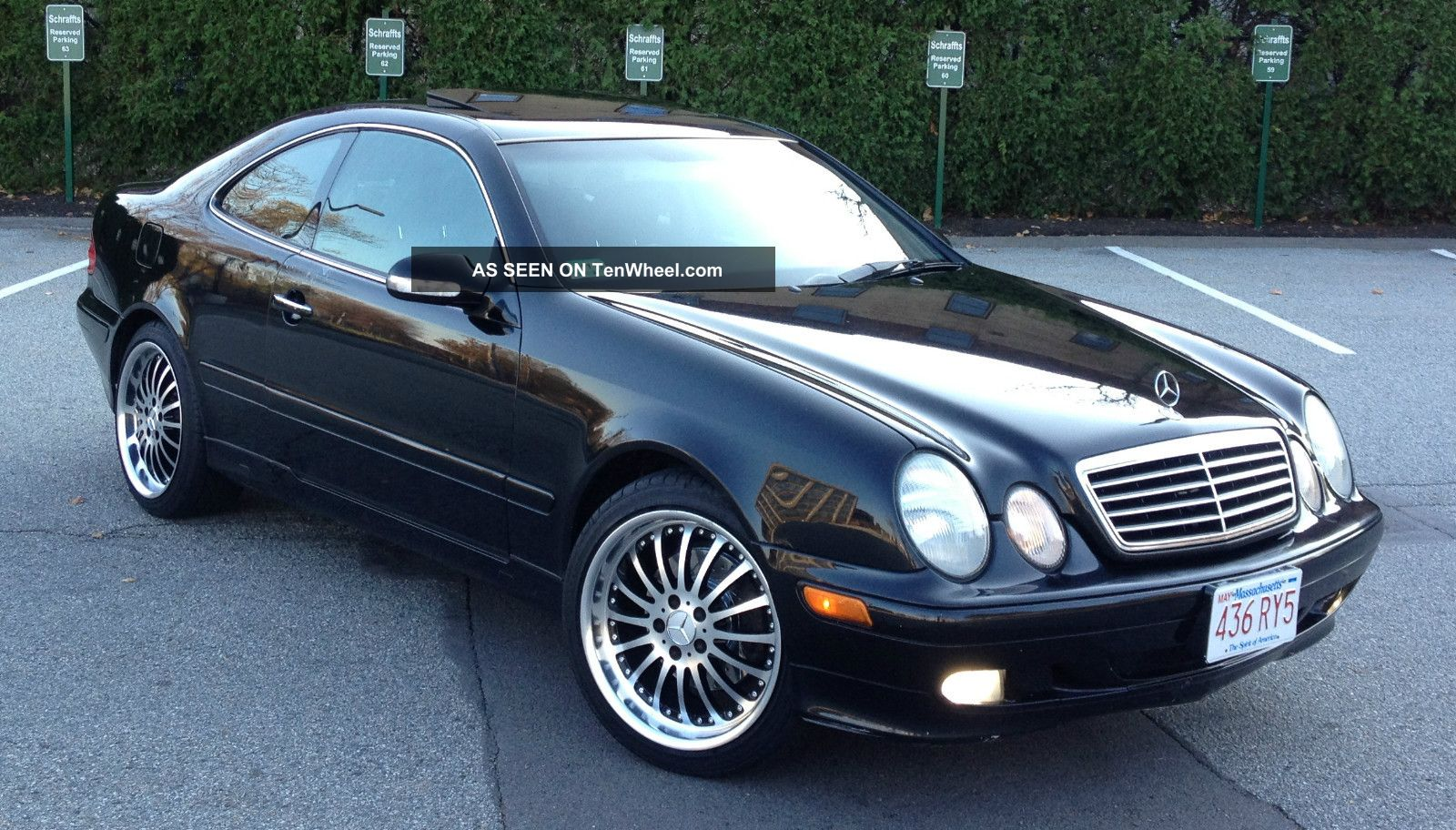 2000 mercedes benz clk class information and photos for Mercedes benz clk 500
