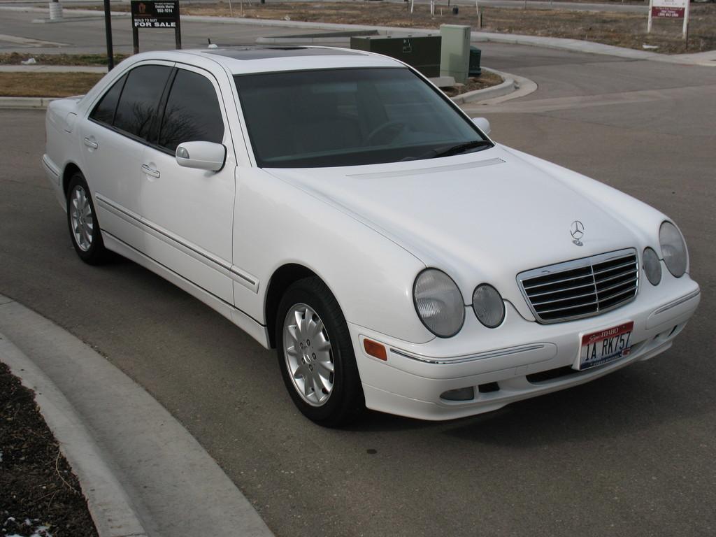 2000 mercedes benz e class image 13 for Mercedes benz 2000 models