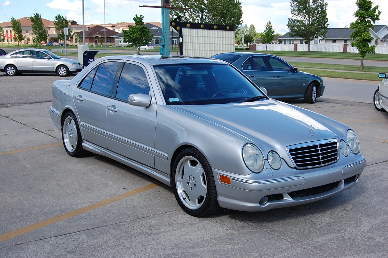 2000 mercedes benz e55 amg information and photos for Mercedes benz e55