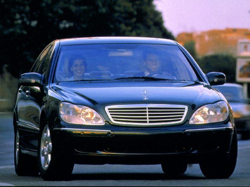 2000 mercedes benz s class image 8 for Mercedes benz 2000 models