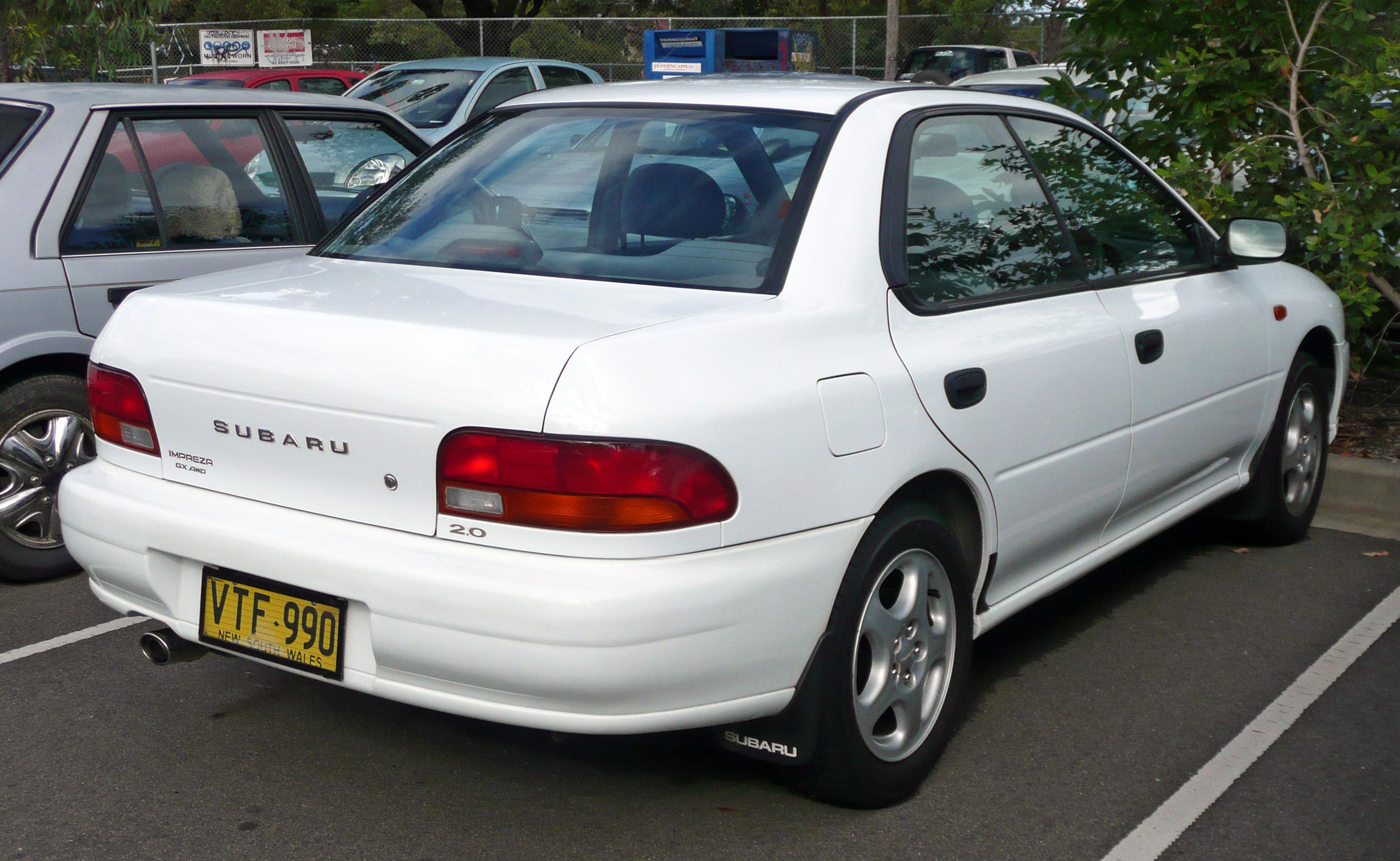 2000 Subaru Impreza Information And Photos Zombiedrive