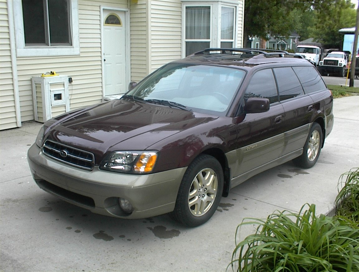 2000 subaru outback - information and photos - zombiedrive