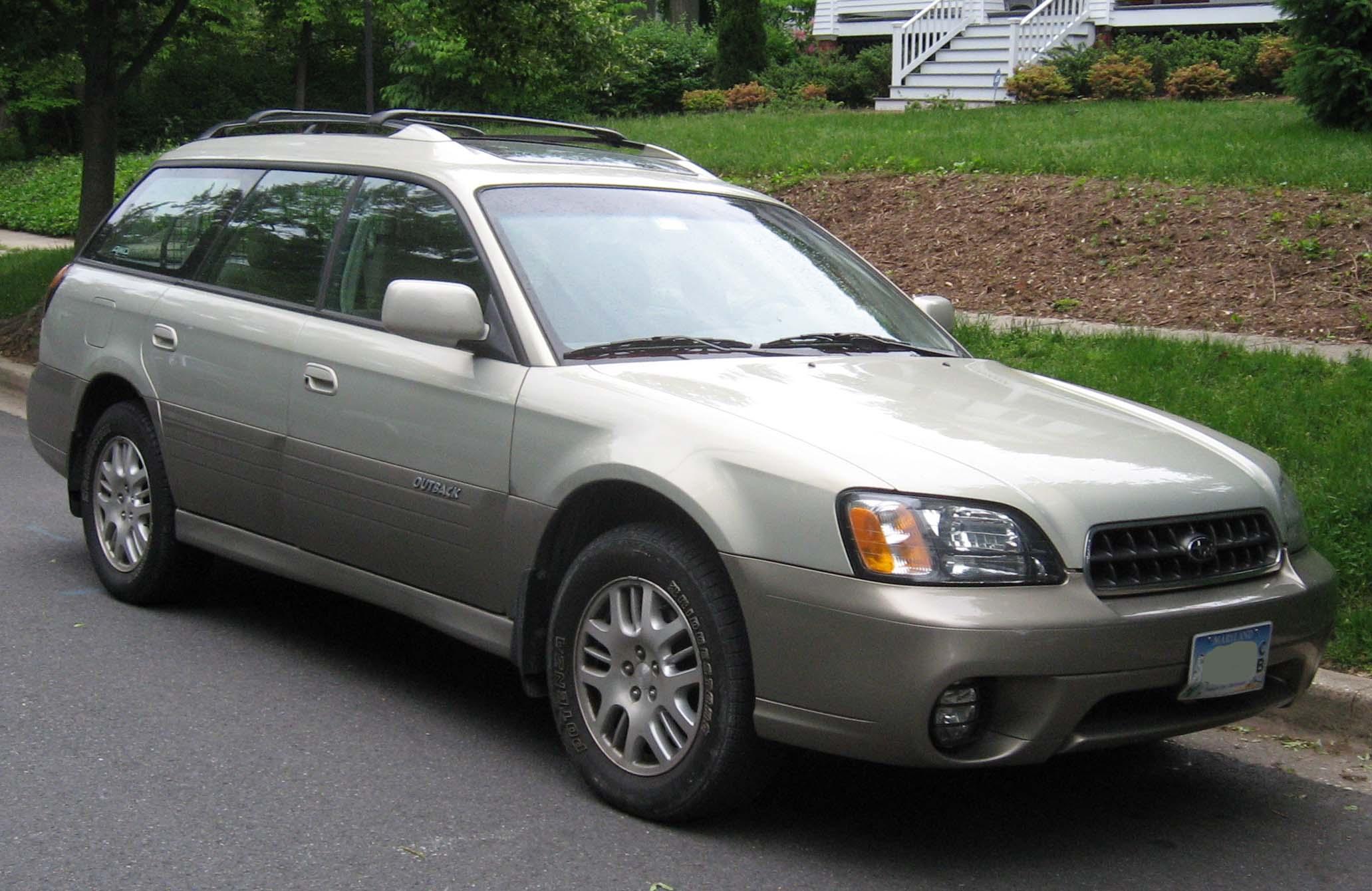2000 Subaru Outback Image 6