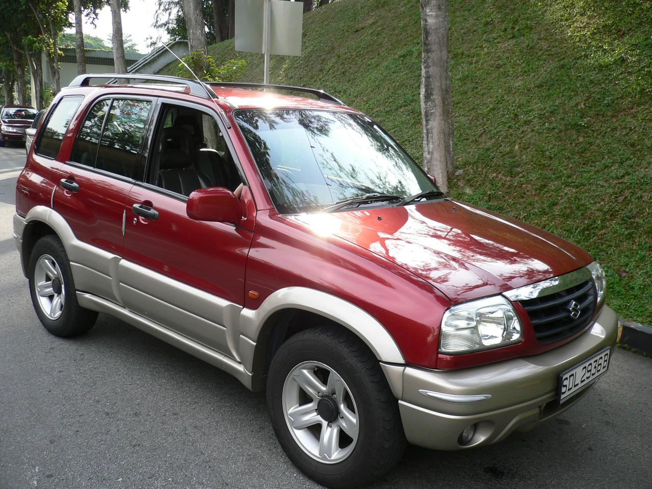 2000 Suzuki Sidekick - Suzuki Vitara Suzuki Vitara - 2000 Suzuki Sidekick