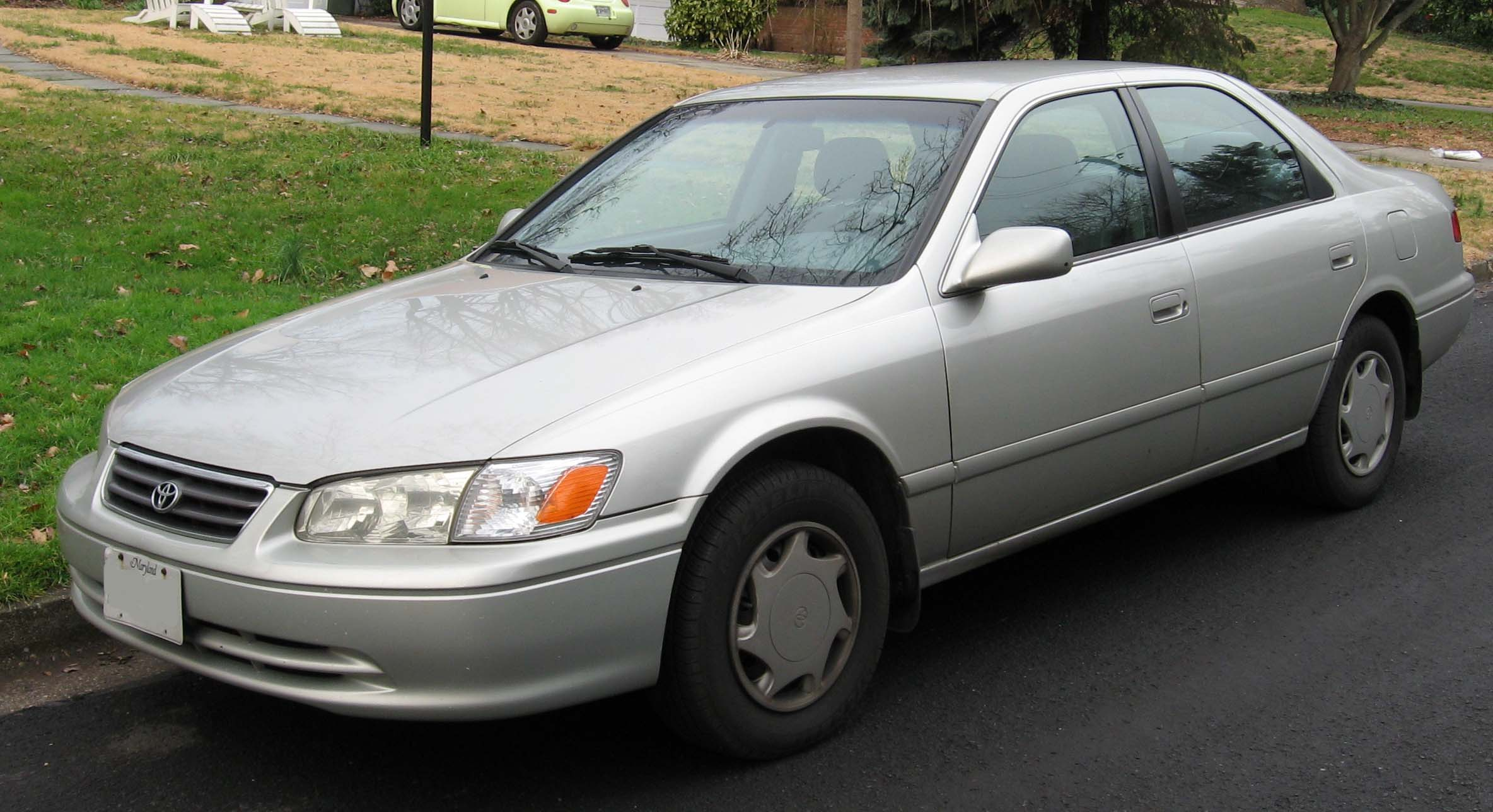 2000 toyota camry colors