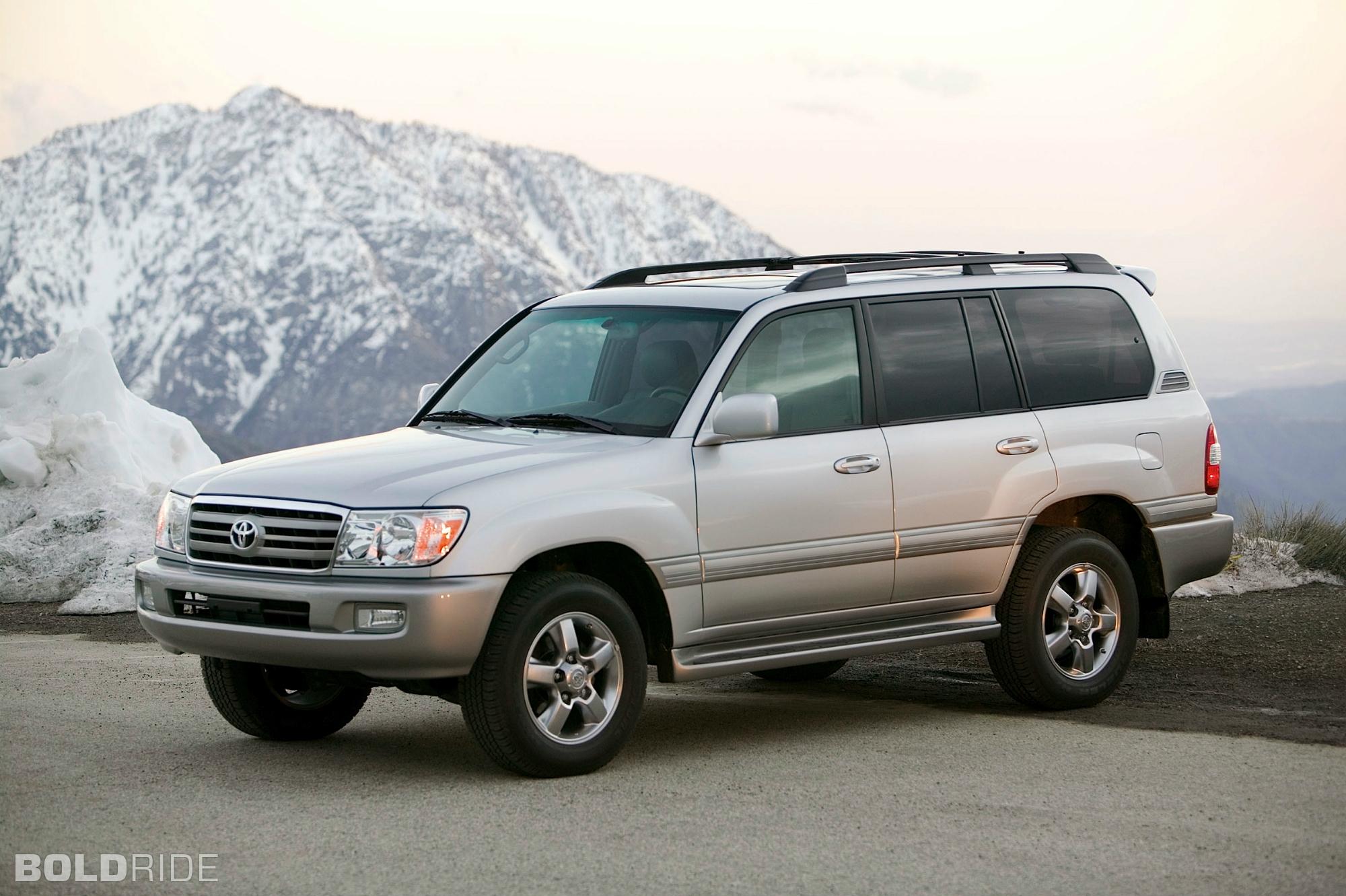 2000 Toyota Land Cruiser Image 6