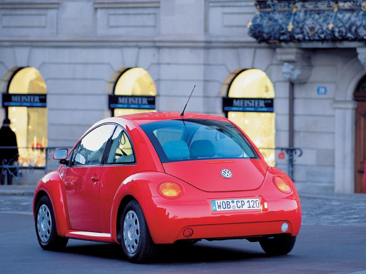 2000 Volkswagen New Beetle Image 14