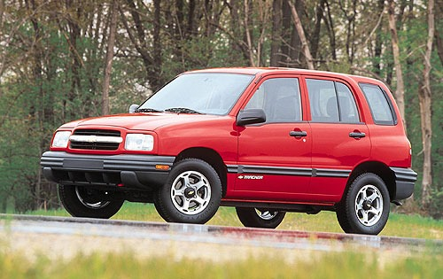 2000 Chevrolet Tracker 2  interior #3