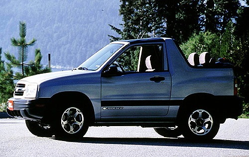 2000 Chevrolet Tracker 2  interior #1