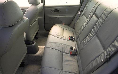 2000 Ford Contour 2 4 Dr SE Exterior