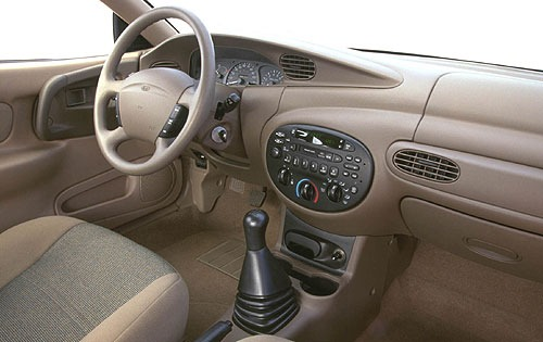 2000 Ford Escort ZX2 2dr  interior #12