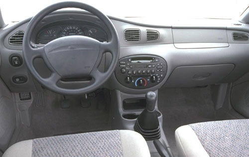 2000 Ford Escort ZX2 2dr  interior #13