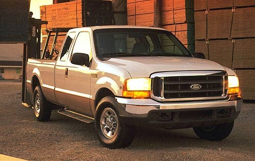 2000 Ford F-250 2 Dr XL S exterior #4
