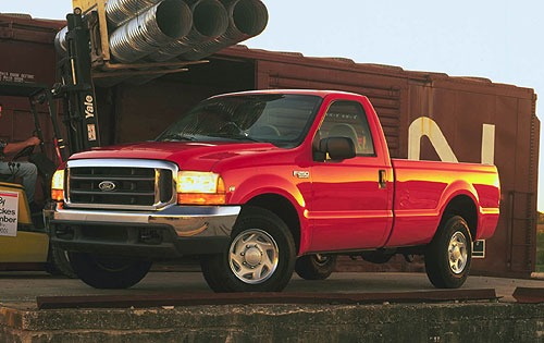 2000 Ford F-250 2 Dr XL S exterior #1