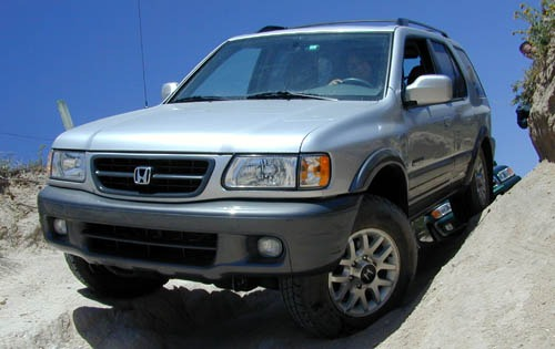 2000 Honda Passport 4 Dr  interior #2