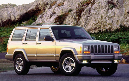 2000 Jeep Cherokee 4 Dr C exterior #2