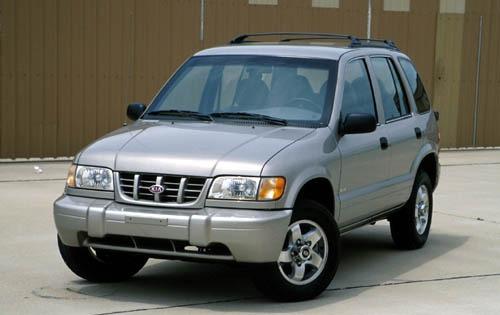 2002 Kia Sportage 5 4wd 4dr Exterior