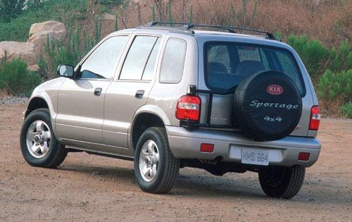 2002 Kia Sportage 13 4wd 4dr Exterior