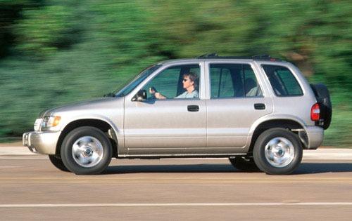 2002 Kia Sportage 7 4wd 4dr Exterior