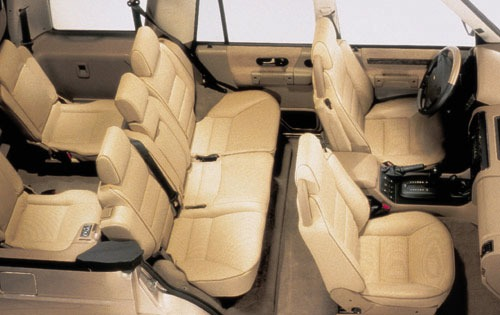 2000 Land Rover Discovery interior #6