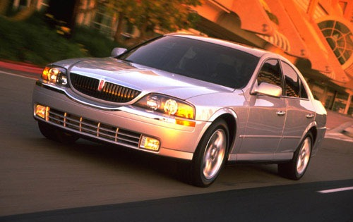 2001 Lincoln LS 4dr Sedan exterior #5