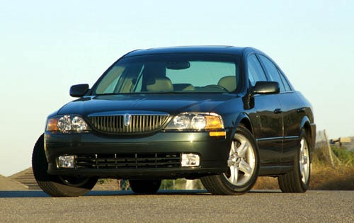 2001 Lincoln LS 4dr Sedan exterior #2