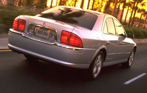 2001 Lincoln LS 4dr Sedan exterior #7